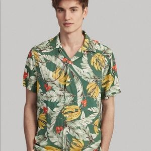 Polo Ralph Lauren Tropical Hawaiian CAMP SHIRT NWT